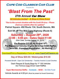 Blast from the Past event flyer