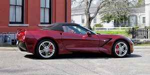 2016 Corvette Convertible - Long Beach Red