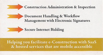Construction Administration, Document Handling, and Secure Internet Bidding