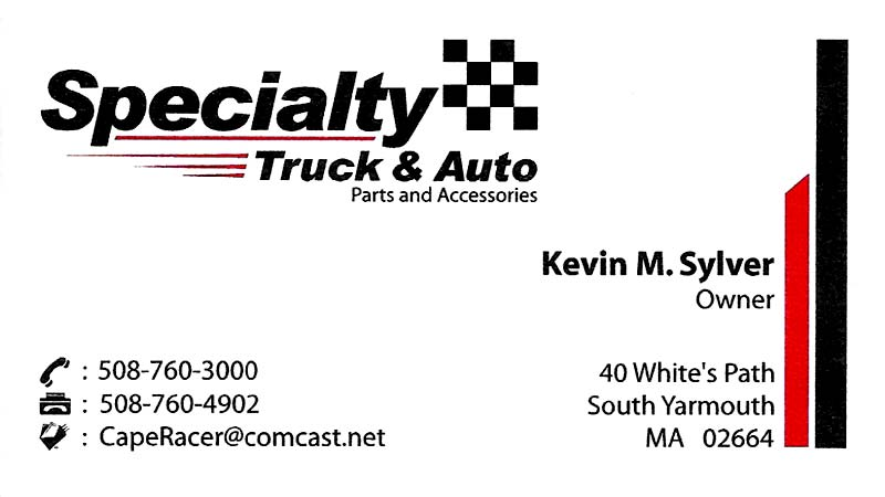 Specialty Truck & Auto - 508-760-3000 - 40 Whites Path, South Yarmouthwww.specialtytruckauto.com