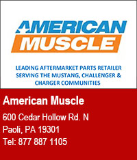American Muscle - Leading Aftermarket Parts Retailer Serving the Mustang, Challenger, and Charger Communities